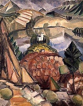 Henri Le Fauconnier, Le lac - GRANDS PEINTRES / Le Fauconnier