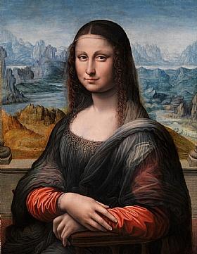 Léonard de Vinci, Mona Lisa (Prado Madrid) - GRANDS PEINTRES / De Vinci