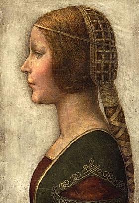 Léonard de Vinci, La belle milanaise - GRANDS PEINTRES / De Vinci