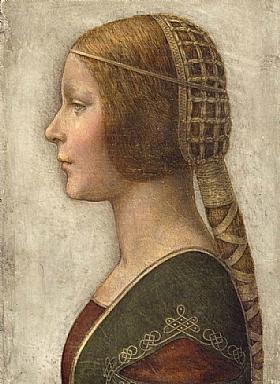 Léonard de Vinci, La belle princesse - GRANDS PEINTRES / De Vinci