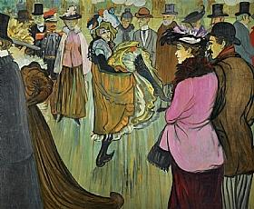 Louis Anquetin, Au Moulin Rouge - GRANDS PEINTRES / Anquetin