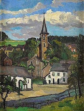 Louis Anquetin, Vue sur le village - GRANDS PEINTRES / Anquetin