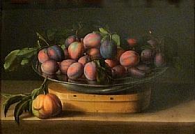 Louise Moillon, Plat de prunes - GRANDS PEINTRES / Moillon