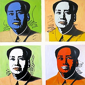 Portraits, Mao - PEINTURES / Tableaux Figuratifs
