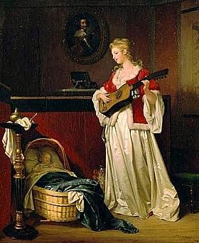 Marguerite Gérard, Dors mon enfant - GRANDS PEINTRES / Gérard