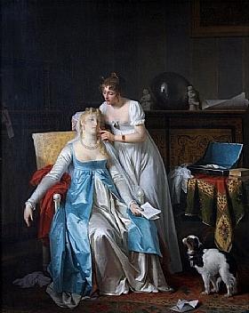 Marguerite Gérard, La mauvaise nouvelle - GRANDS PEINTRES / Gérard