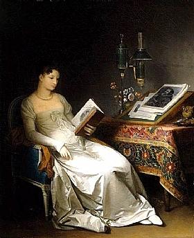 Marguerite Gérard, La lecture - GRANDS PEINTRES / Gérard