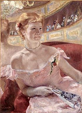 Mary Cassatt, Femme au collier de perles - GRANDS PEINTRES / Cassatt
