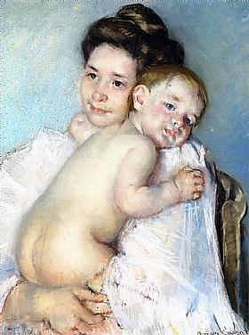 Mary Cassatt, Mère et enfant - GRANDS PEINTRES / Cassatt