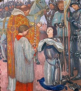 Maurice Denis, Communion de Jeanne d'Arc - GRANDS PEINTRES / Denis