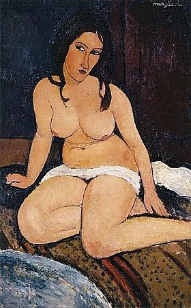 Modigliani, nu avec un drap - GRANDS PEINTRES / Modigliani