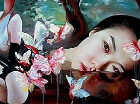 Sensualité et Charme, nature et papillons - GRANDS FORMATS / 75cm x 100cm