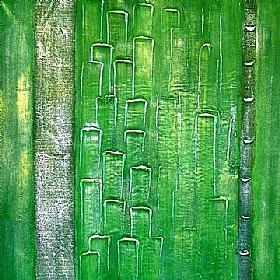 Nature et Flore, Vert Printemps - PEINTURES / Tableaux Abstraits