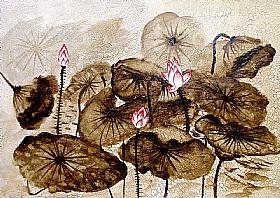 Nature et Flore, Les Nénuphars - PEINTURES / Tableaux Faune & Flore
