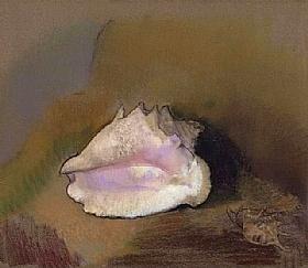 Odilon Redon, Coquillage - GRANDS PEINTRES / Redon