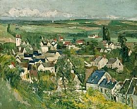 Paul Cézanne, Auvers sur Oise - GRANDS PEINTRES / Cezanne