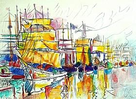 Paul Signac, Saint Malo les terre-neuvas - GRANDS PEINTRES / Signac