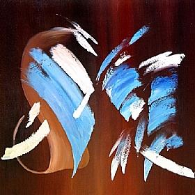 Gainsbourg couleur café, Cappuccino - GRANDS FORMATS / 80cm x 80cm