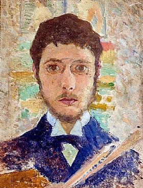 Pierre Bonnard, Autoportrait - GRANDS PEINTRES / Bonnard