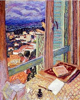 Pierre Bonnard, La fenêtre - GRANDS PEINTRES / Bonnard