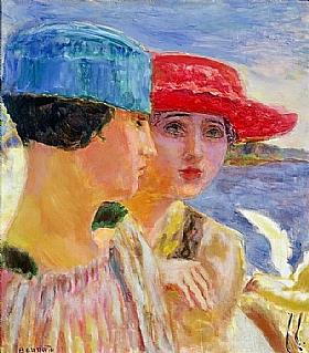 Pierre Bonnard, Jeunes femmes et une mouette - GRANDS PEINTRES / Bonnard