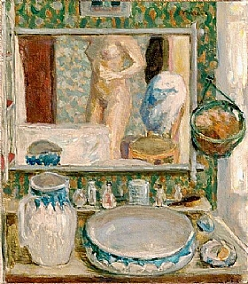 Pierre Bonnard, La table de toilette - GRANDS PEINTRES / Bonnard