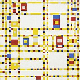 Piet Mondrian, Broadway boogie woogie - GRANDS PEINTRES / Mondrian