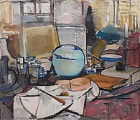 Piet Mondrian, nature morte - GRANDS PEINTRES / Mondrian