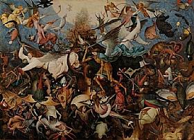 Pieter Bruegel dit l'Ancien, La chute des anges rebelles - GRANDS PEINTRES / Bruegel