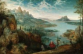 Pieter Bruegel dit l'Ancien, La fuite en Egypte - GRANDS PEINTRES / Bruegel