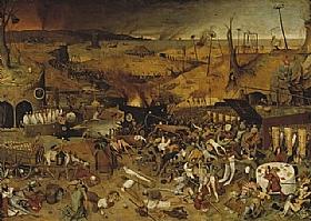 Pieter Bruegel dit l'Ancien, Le triomphe de la mort - GRANDS PEINTRES / Bruegel