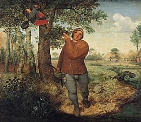 Pieter Bruegel dit l'Ancien, Le paysan et le voleur de nid - GRANDS PEINTRES / Bruegel