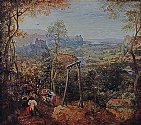Pieter Bruegel dit l'Ancien, La pie sur le gibet - GRANDS PEINTRES / Bruegel