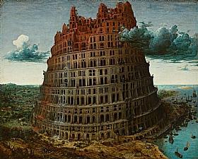 Pieter Bruegel dit l'Ancien, Tour de Babel (petite) - GRANDS PEINTRES / Bruegel