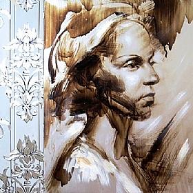 Portrait de Femmes, Princesse urbaine - PEINTURES / Tableaux Figuratifs