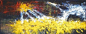 Rayons De Soleil, Fond d'éclats de lumière (4) - GRANDS FORMATS / 70cm x 180cm