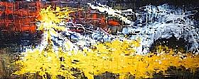 Rayons De Soleil, Fond d'éclats de lumière (5) - GRANDS FORMATS / 70cm x 180cm