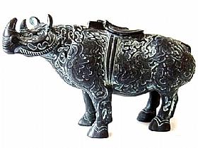 Carafe en bronze, Rhinoceros - SCULPTURES / Bronzes