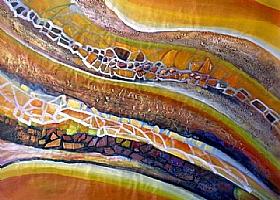 Expériences de vie, L'or dans la rivière - GRANDS FORMATS / 90cm x 120cm