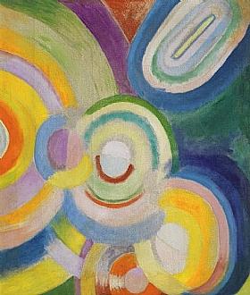 Robert Delaunay, Disques colorés - GRANDS PEINTRES / Delaunay