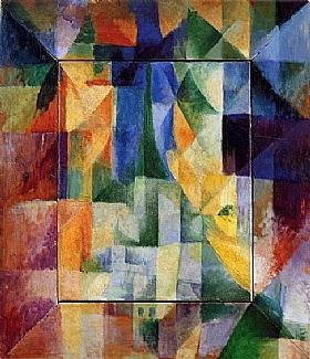 Robert Delaunay, Fenetres simultanées sur la ville - GRANDS PEINTRES / Delaunay