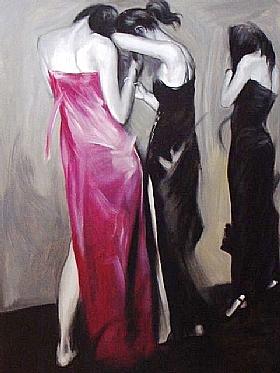 Sensualité et Charme, robes de soirée - GRANDS FORMATS / 75cm x 100cm