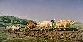 Rosa Bonheur, Labourage en Nivernais - GRANDS PEINTRES / Bonheur
