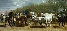 Rosa Bonheur, Marché aux chevaux - GRANDS PEINTRES / Bonheur
