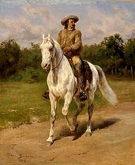 Rosa Bonheur, Buffalo Bill - William F. Cody - GRANDS PEINTRES / Bonheur
