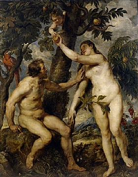 Pierre Paul Rubens, Adam et Eve - GRANDS PEINTRES / Rubens