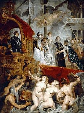 Pierre Paul Rubens, Marie de Medicis à Marseille - GRANDS PEINTRES / Rubens