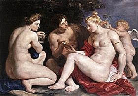Pierre Paul Rubens, Vénus Cupidon Bacchus et Cérès - GRANDS PEINTRES / Rubens