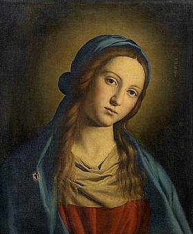 Salvi da Sassoferrato, La Vierge - GRANDS PEINTRES / Sassoferrato