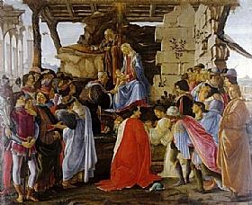 Sandro Botticelli, Adoration des Mages - GRANDS PEINTRES / Botticelli